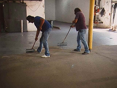 Epoxy Painting Your Floor Critical Links 603 435 7199